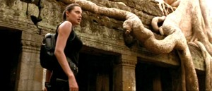 Angelina Jolie no Templo Ta Prohm