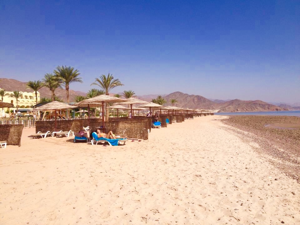 praia de Resort Sofitel Taba Heights